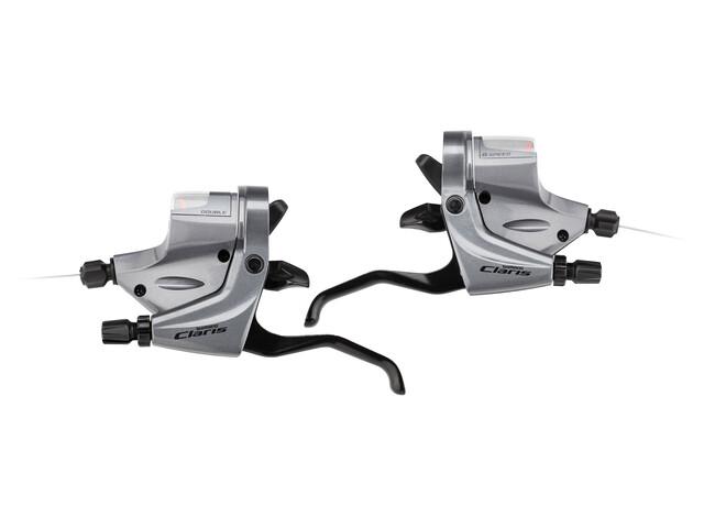 Shimano Claris ST-R240 Schalt-/Bremshebel 2x8-fach silver